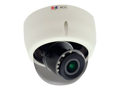 ACTi E618 Network surveillance camera dome vandal-proof color (Day&Night) 3.15 MP