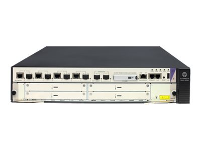 HPE HSR6602-XG Router 4-port switch / 2-port SFP+ switch 10 GigE rack-mountable
