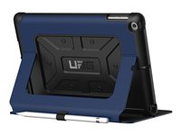 UAG Rugged Case for iPad 9.7 (2017 5th Gen & 2018 6th Gen) Case for tablet rubber cobalt