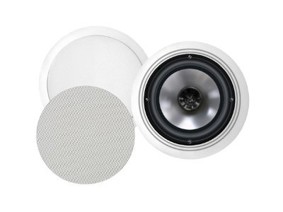 BIC America Formula FH6-C Speaker 150 Watt 2-way coaxial white (grille color whi
