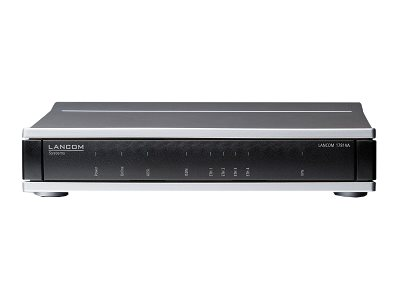 LANCOM 1781VA - Router - ISDN/DSL - 4-Port-Switch - GigE, PPP
