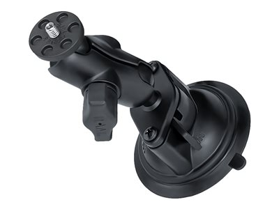 RAM Twist-Lock Suction Cup Mount with Short Double Socket Arm Support system suct
