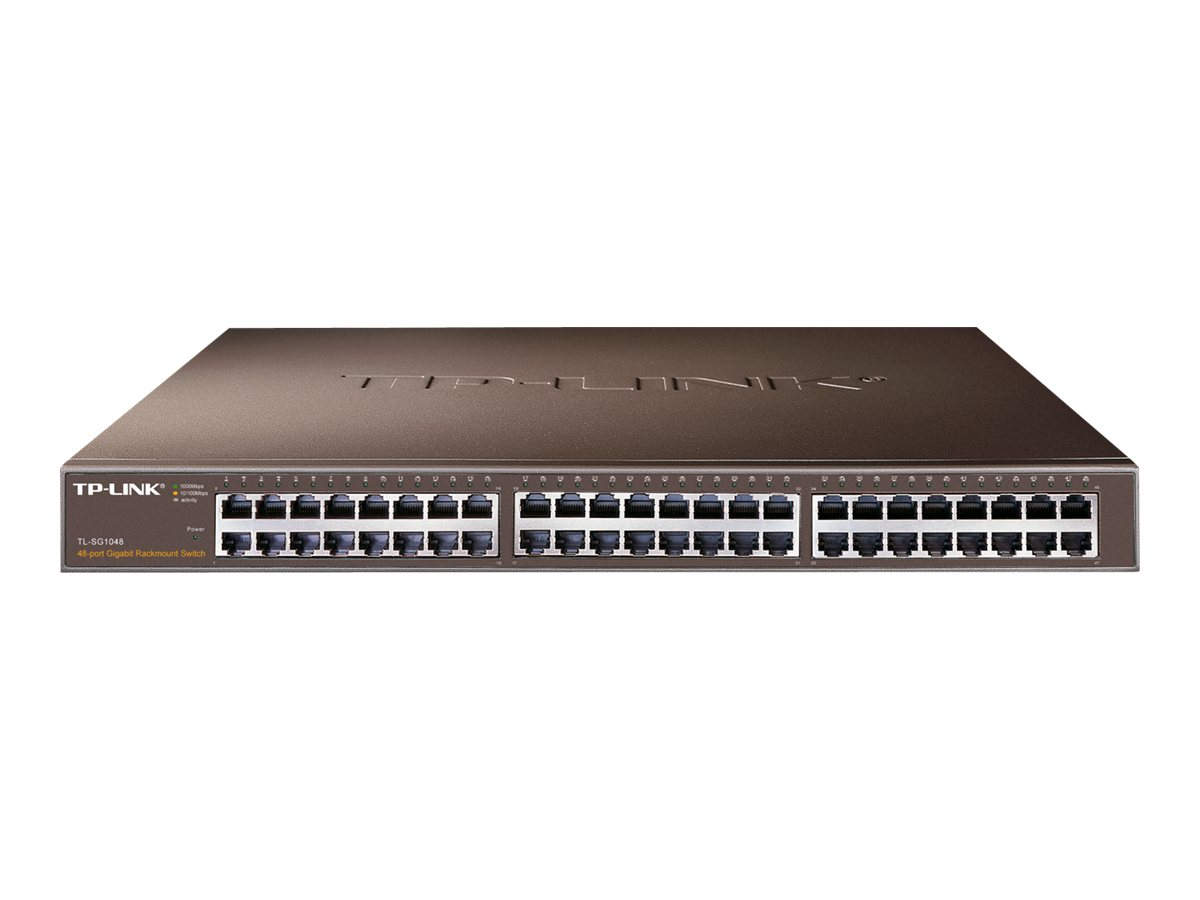 TP-LINK TL-SG1048 - Switch - 48 x 10/100/1000 - an Rack montierbar