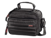 Hama Syscase Camera Bag 100 Colt - Carrying bag for digital photo camera / camcorder - fleece, 600D ripstop PolyTex - black