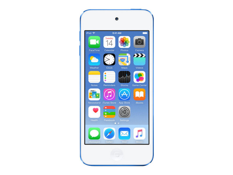 Apple iPod touch - 6. Generation - Digital Player - Apple iOS 8 - 32 GB - Blau