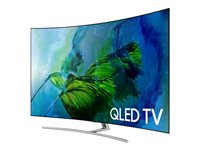 Samsung QN55Q8CAMF 55INCH Class (54.5INCH viewable) Q8C Series curved QLED TV Smart TV