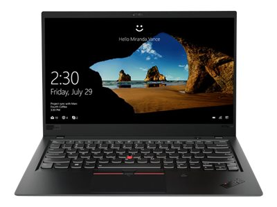 "Lenovo ThinkPad X1 Carbon (6th Gen) - 14"" - Core i7 8550U - 8 Go RAM - 512 Go SSD - French"