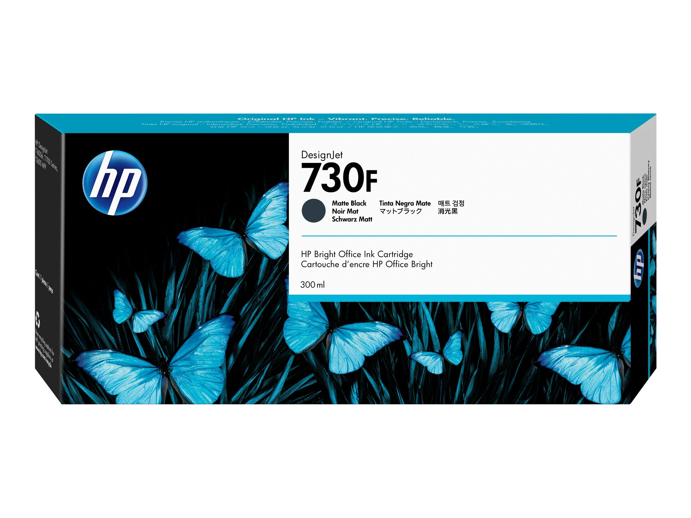 HP 730F - High Capacity - matte black - original - DesignJet - ink cartridge