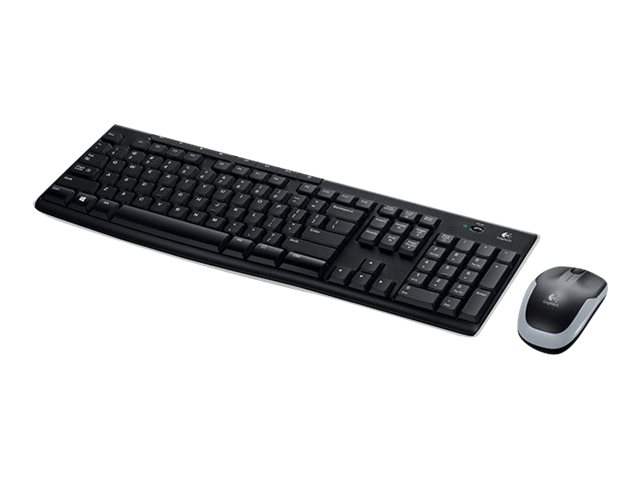 Image of Logitech MK270 Wireless Combo - keyboard and mouse set - French