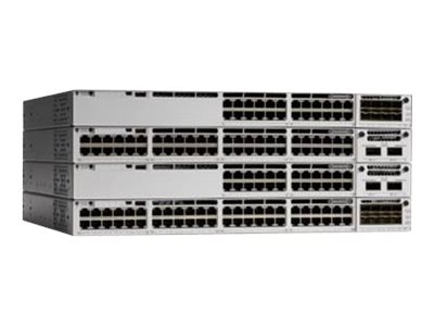Cisco Catalyst 9300 - Network Advantage - switch - 48 ports - managed -  rack-mountable