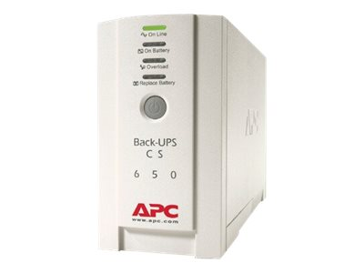 APC Back-UPS CS 650 - UPS - 400 Watt - 650 VA
