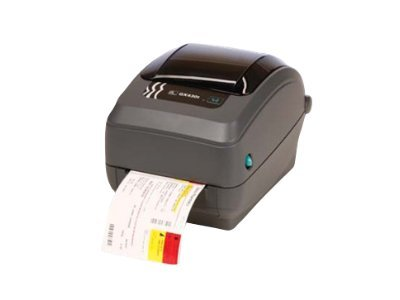Zebra GX Series GX430t - label printer - monochrome - direct thermal / thermal transfer