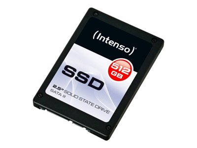 Intenso - Solid-State-Disk - 512 GB - intern - 6.4 cm (2.5