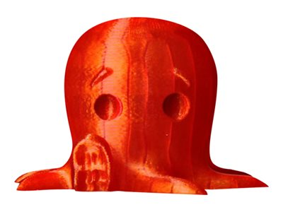 - 1 - Translucent Orange - PLA-Filament
