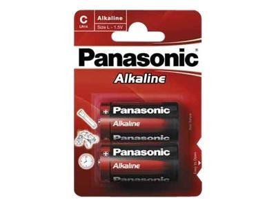 Panasonic Alkaline Power LR14AP/2BP - Batterie 2 x C Alkalisch