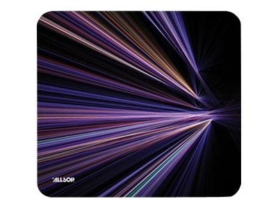 Allsop Naturesmart MousePad Tech Mouse pad purple stripes