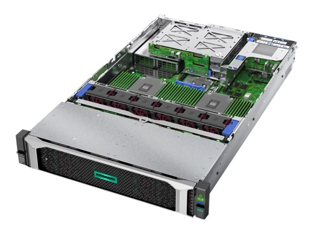 HPE ProLiant DL385 Gen10 Solution - rack-mountable - EPYC 7251 2.1 GHz - 16 GB - no HDD
