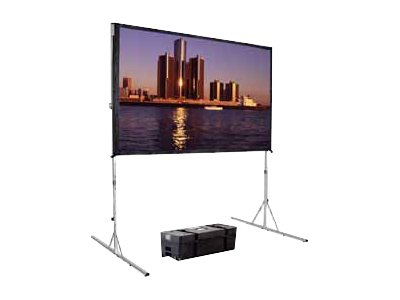 Da-Lite Fast-Fold Deluxe Screen System Projection screen rear 16:10 Hi