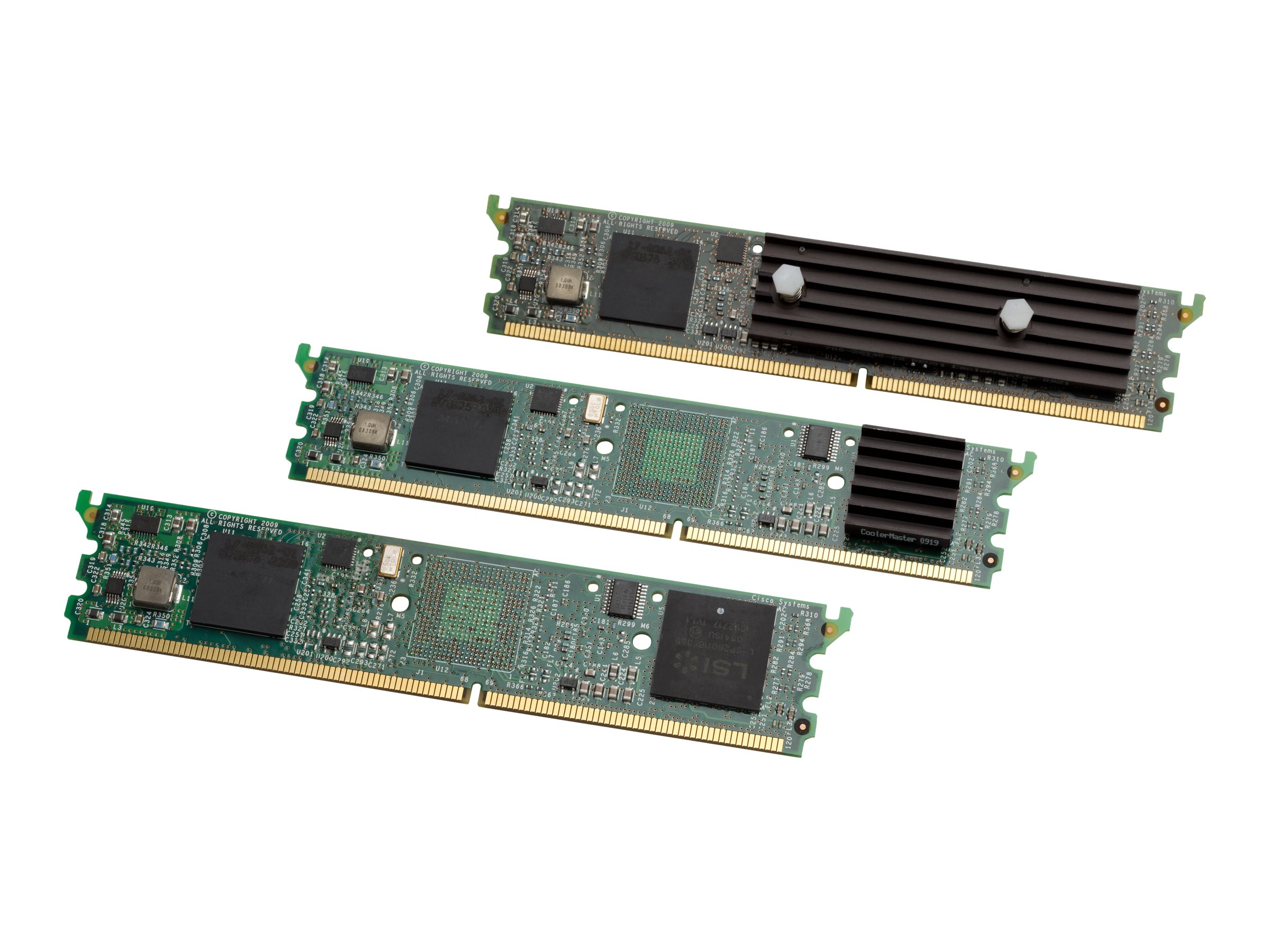 Cisco 16-Channel High-Density Packet Voice and Video Digital Signal Processor Module - voice DSP module
