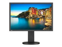 NEC MultiSync P243W-BK LED monitor 24INCH 1920 x 1200 AH-IPS 350 cd/m² 1000:1 8 ms