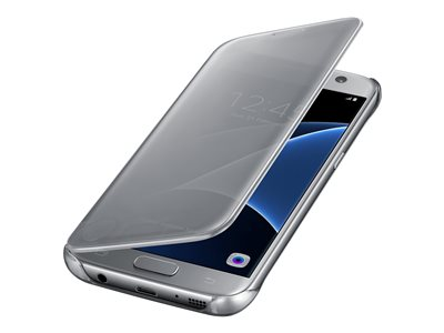 Samsung S-View Flip Cover EF-ZG930 Flip cover for cell phone silver for Galaxy