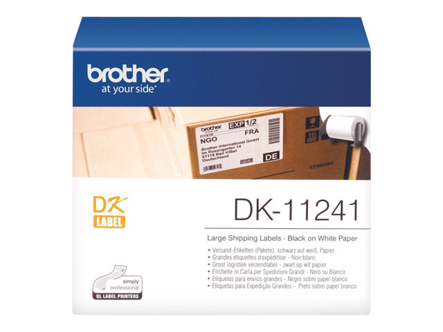 Image of Brother DK-11240 - shipping labels - 600 label(s) - 51 x 102 mm