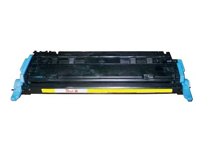 - jaune - remanufacturé - cartouche de toner (alternative for: HP Q6002A)