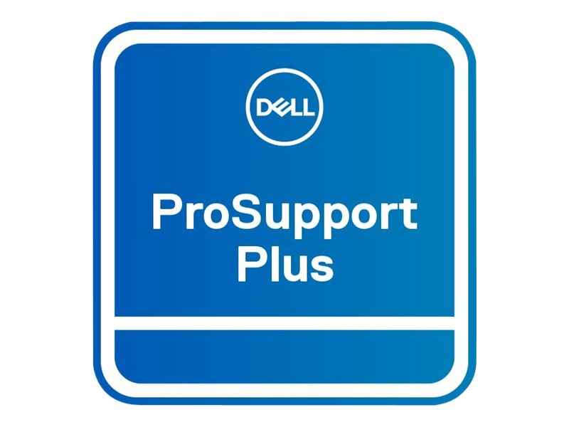 Dell Upgrade from 3Y ProSupport to 5Y ProSupport Plus - extended service agreement - 5 years - on-site