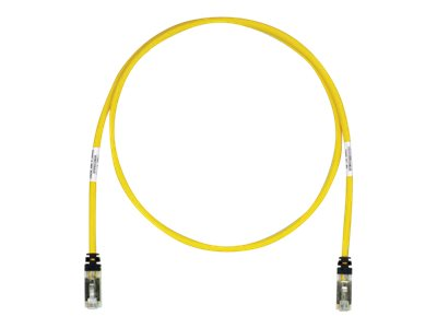 Panduit TX6A 10Gig patch cable - 1 m - yellow