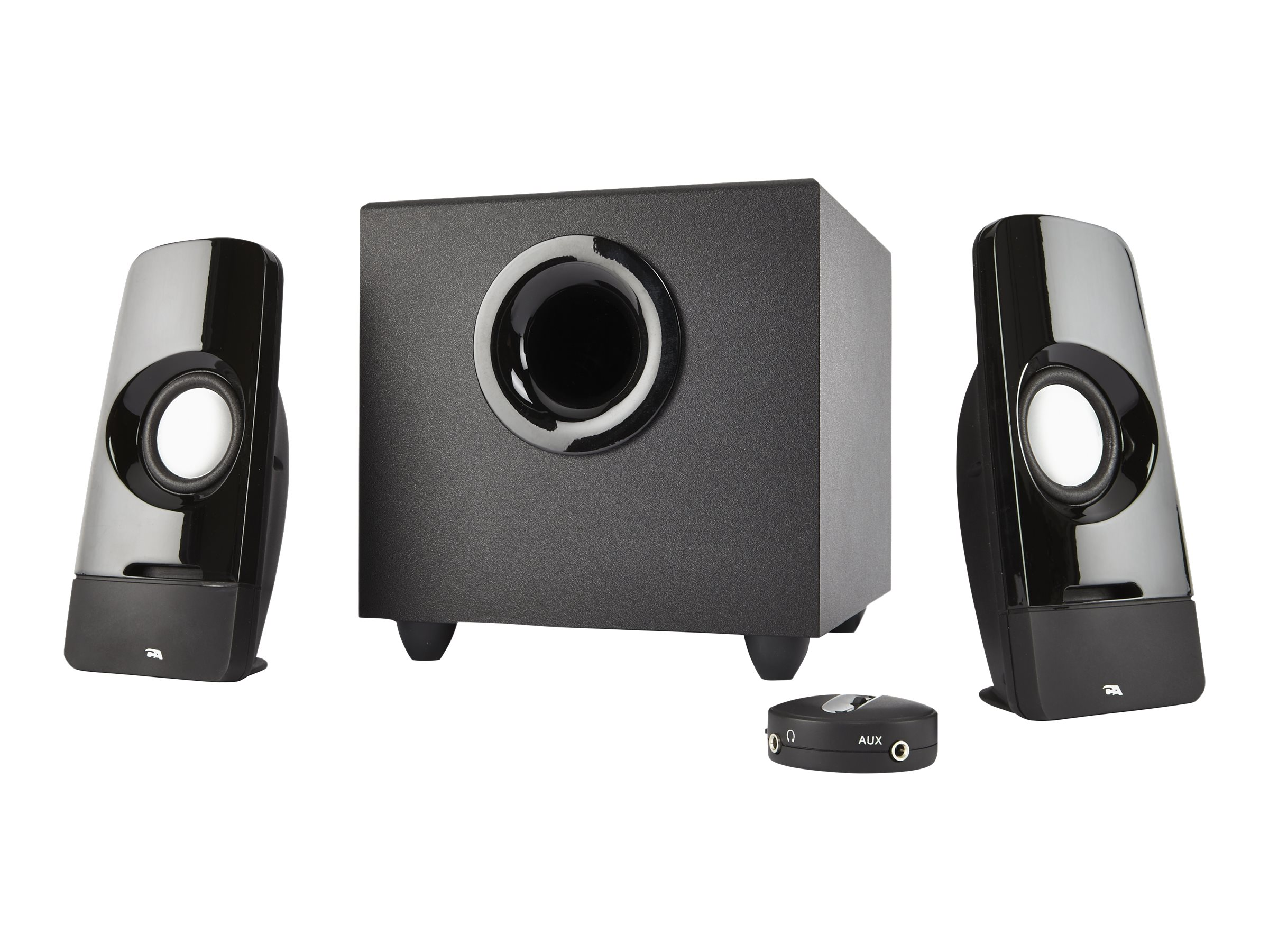 Cyber Acoustics CURVE Series CA-3050 Blast - speaker system - for PC