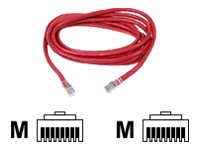 Belkin patch cable - 5.2 m - red