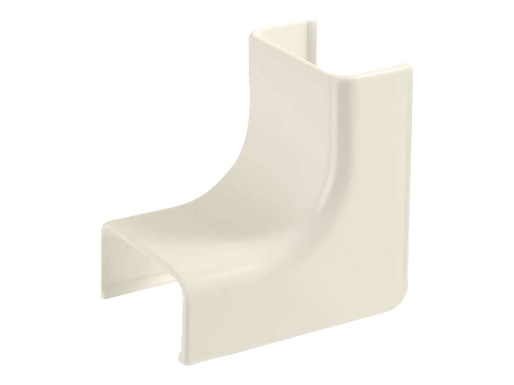 Wiremold Uniduct 2900 Internal Elbow - Ivory cable raceway inside corner