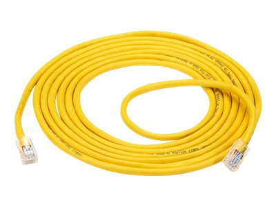 Black Box Economy patch cable - 4.5 m - yellow