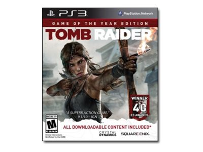 Tomb Raider Game of the Year Edition PlayStation 3