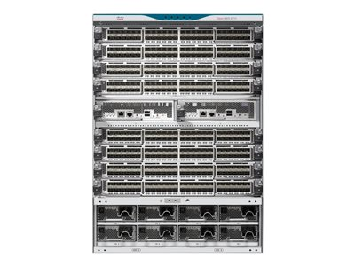 Cisco MDS 9710 Multilayer Director - Enhanced Config - switch - managed - rack-mountable - with 2 x Cisco MDS 9700 Series Supervisor-1 Module, 6x Cisco MDS 9710 Crossbar Switching Fabric-1 Module