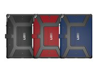 UAG Metropolis Series - Flip cover for tablet - magma (red)