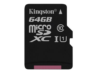 - Flash-Speicherkarte - 64 GB - microSDXC UHS-I