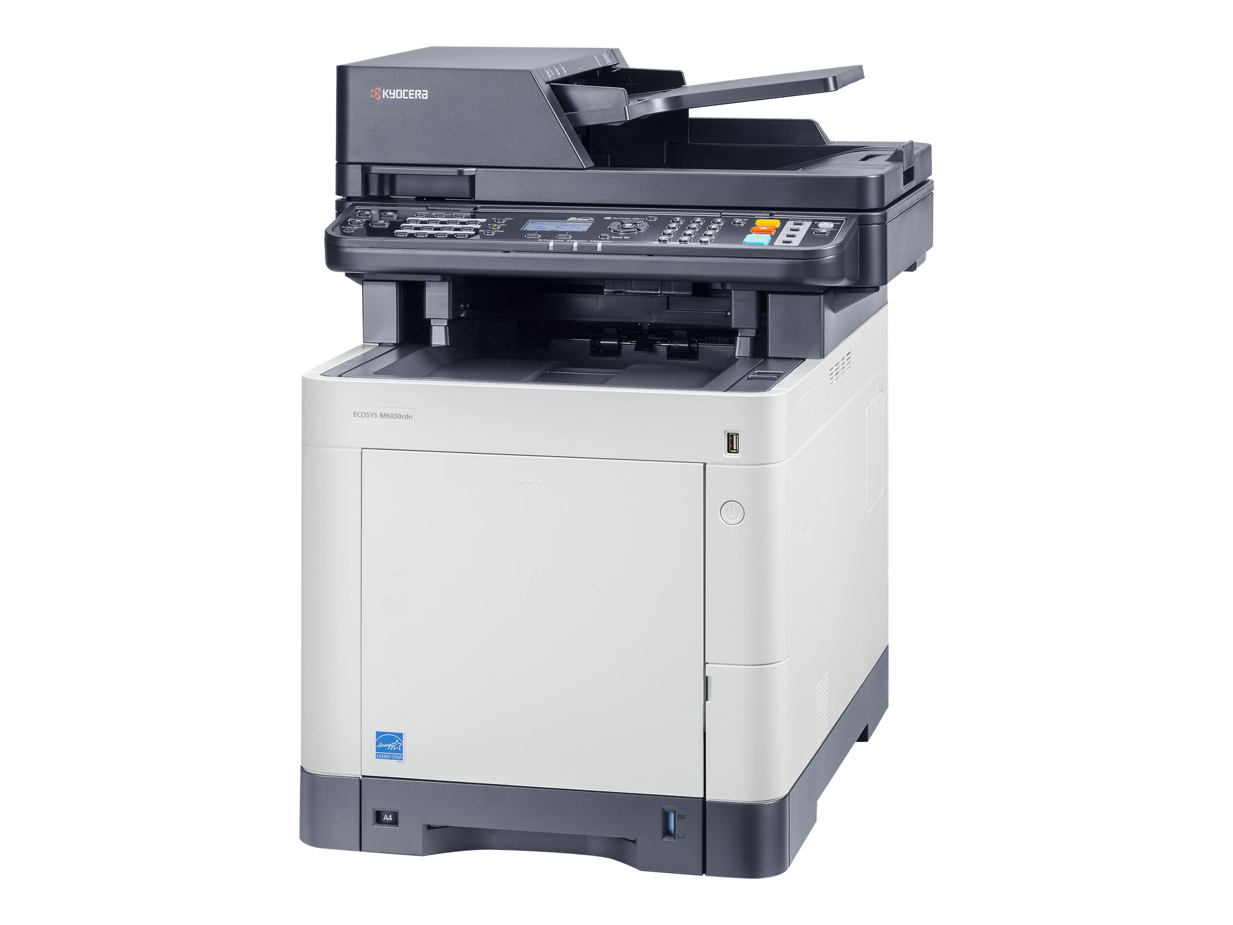 Kyocera ECOSYS M6030cdn/KL3 - Multifunktionsdrucker - Farbe - Laser - Legal (216 x 356 mm)/A4 (210 x 297 mm) (Original) - A4/Legal (Medien)