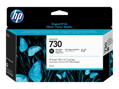 HP 730 130 ml photo black original DesignJet ink cartridge