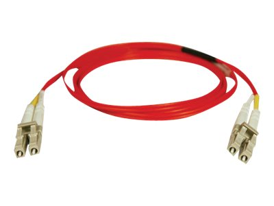 Tripp Lite 10M Duplex Multimode 62.5/125 Fiber Optic Patch Cable Red LC/LC 33' 33ft 10 Meter - patch cable - 10 m - red
