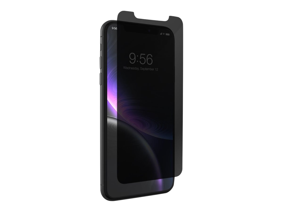 ZAGG InvisibleShield Glass+ Privacy - screen privacy filter for cellular phone