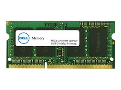 Dell - DDR4 - 16 Go - SO DIMM 260 broches - 2400 MHz / PC4-19200 - 1.2 V - mémoire sans tampon - non ECC - pour Inspiron 13 7375, 15 55XX, 55XX, 5775; Latitude 3390 2-in-1, 34XX, 35XX, 5590, 7390, 7490