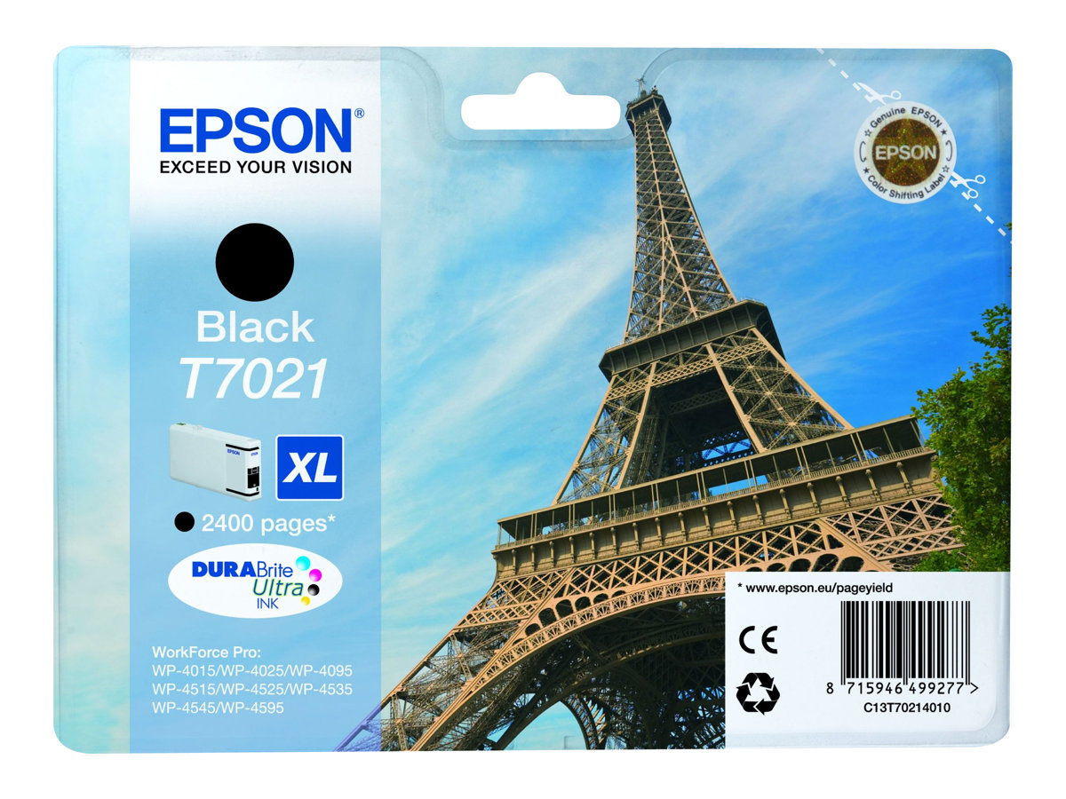 epson t7021 tour eiffel taille xl noir original cartouche d 39 encre epson. Black Bedroom Furniture Sets. Home Design Ideas
