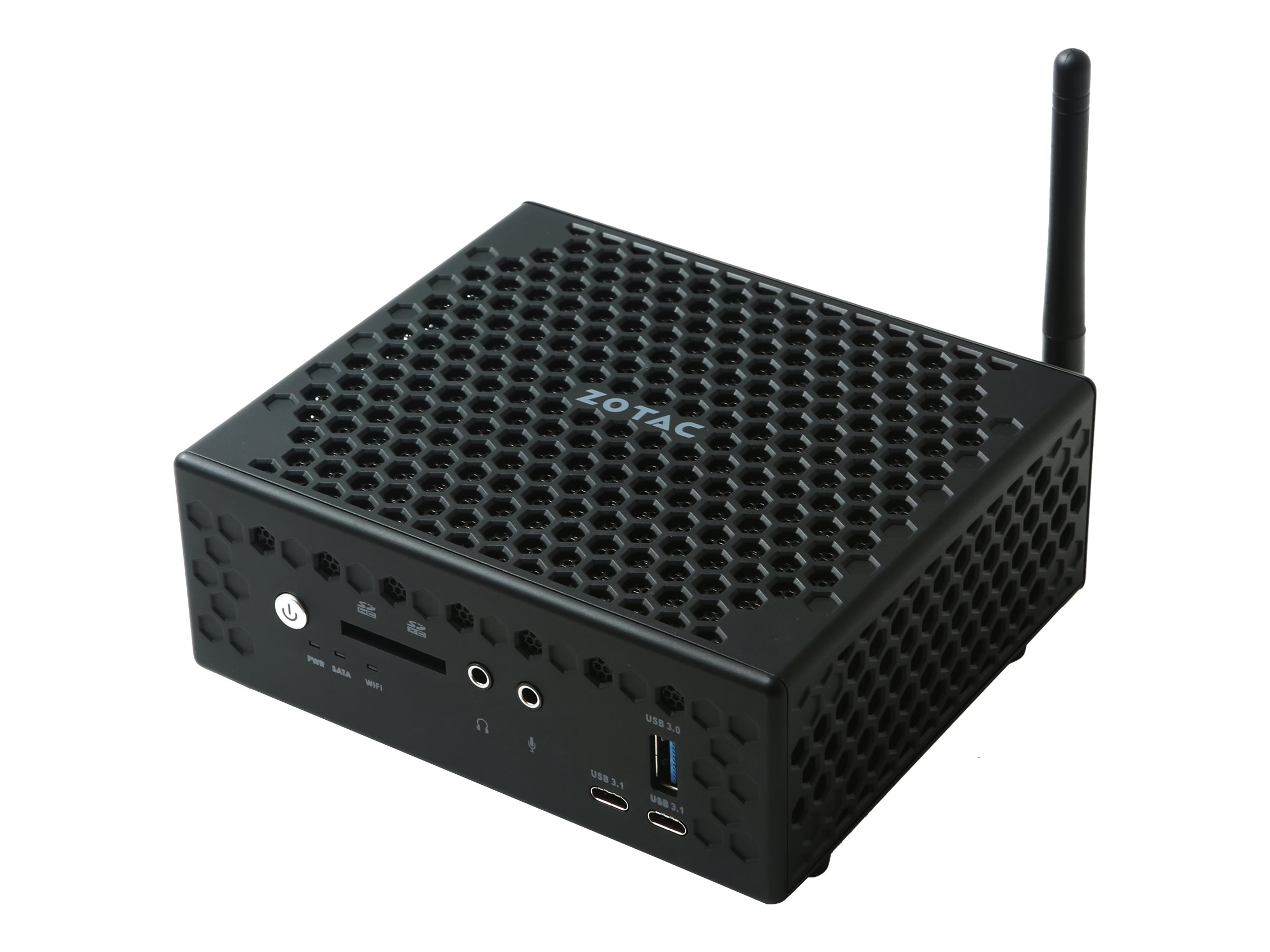 ZOTAC ZBOX nano CI527 - C Series - Mini-PC - 1 x Core i3 7100U / 2.4 GHz - RAM 0 MB - kein HDD