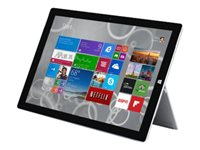 Microsoft Surface 3 Tablet Atom x7 Z8700 / 1.6 GHz Win 10 Pro 4 GB RAM 64 GB SSD
