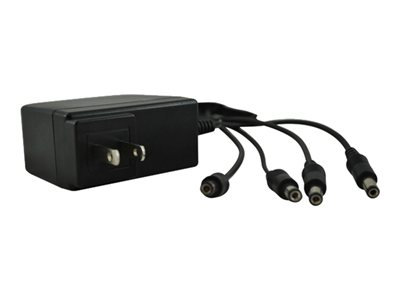 REVO Power adapter output connectors: 4