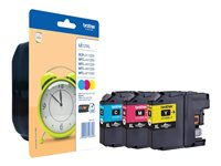 Brother LC125XL Rainbow Pack - 3er-Pack