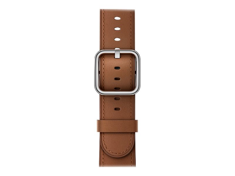 Apple 38mm Classic Buckle - Uhrarmband - 130 - 195 mm - Saddle Brown - für Watch (38 mm)