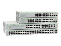 Switch/48xF+ENet RJ45, 48 Port Fast Ethernet WebSmart Switch wi