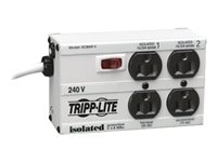 Tripp Lite Isobar Surge Protector Metal 230V 4 Outlet 1.8M Cord 330 Joules Surge protector